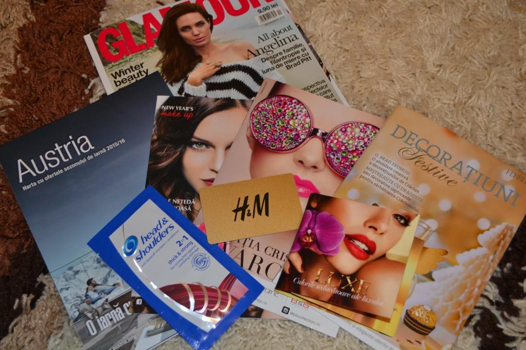 Revista Glamour decembrie