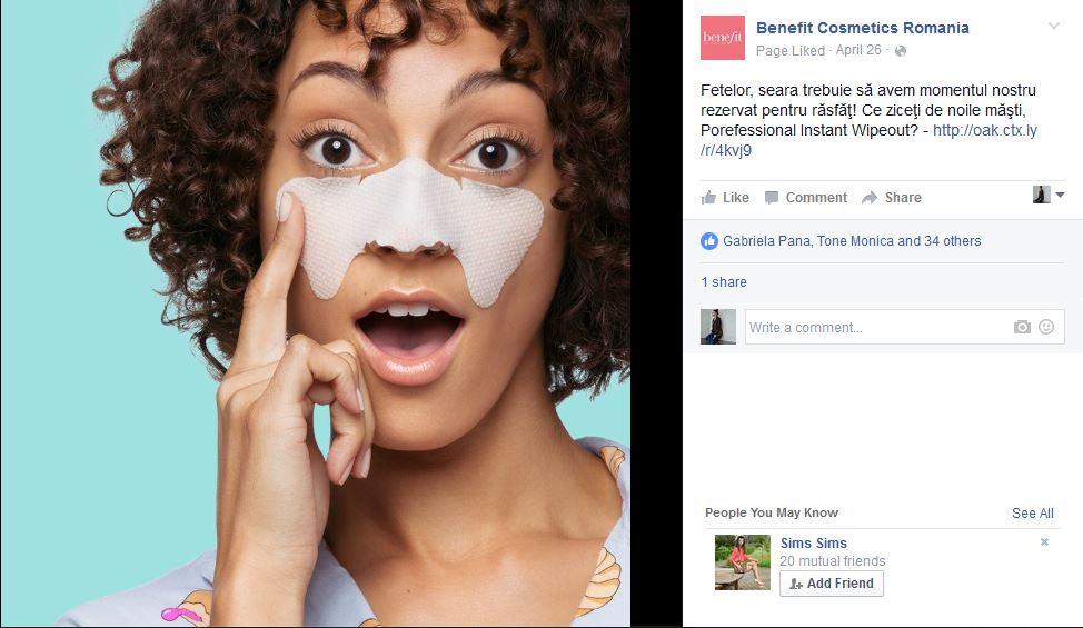 benefit-masca