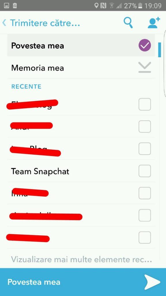 snapchat-aplicatie